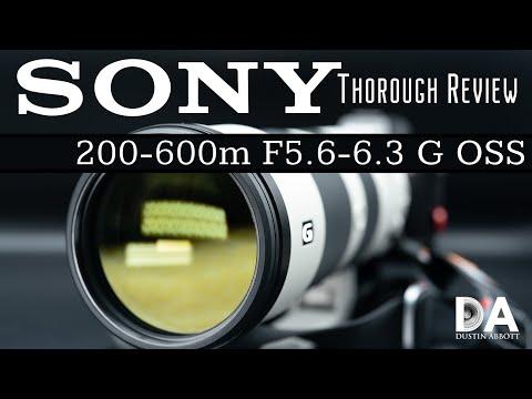 External Review Video sS-aUZw8PjU for Sony FE 200-600mm F5.6-6.3 G OSS Lens (SEL200600G)