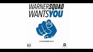 #WarnerSquad – Warner Wants You 2018