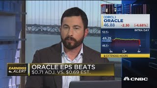 Oracle EPS beats expectations