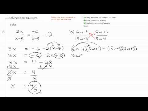 Solving Linear Equations p3
