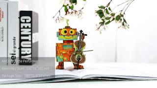 Robotime New arrival music box Series - 3D wooden puzzle - Little Performer AMD53