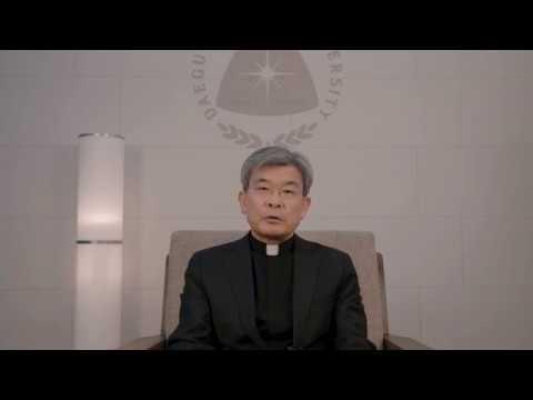 2018학년도 전기학위수여식 총장 김정우(요한) 신부 축사 영상