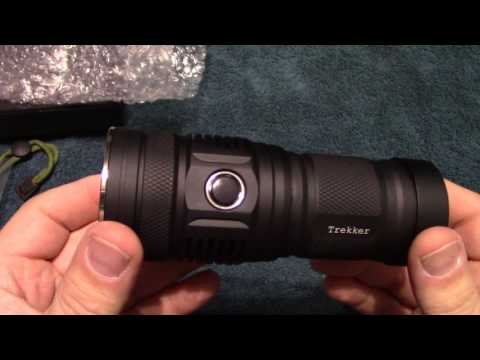 Haikelite MT01 Trekker Flashlight Review!