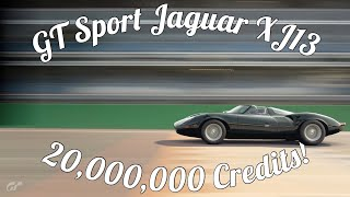 GT Sport Jaguar XJ13 Gameplay! Amazing Detail!