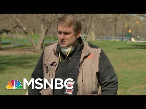Doctor At Central Park Field Hospital Speaks On Treating Coronavirus Patients   Craig Melvin   MSNBC