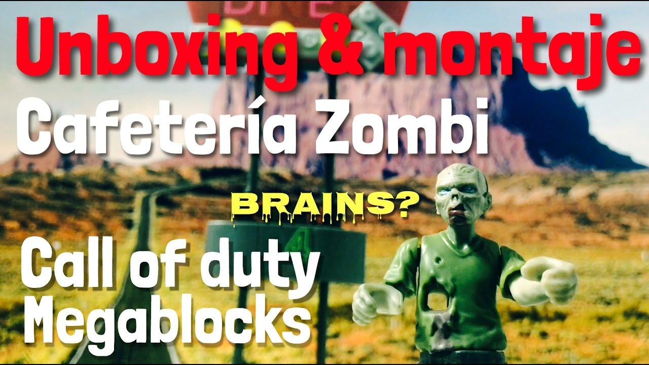 Unboxing & montaje - Megablocks Call of duty - Cafetería zombi