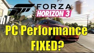 Forza Horizon 3 - Ocean View Trail - 60 fps Stutter - Самые
