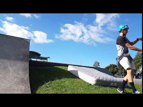 Scooter Trick practice: Indy Flip