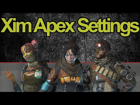Unstoppable Apex Legends Xim Apex Settings (FEELS LIKE NATIVE)