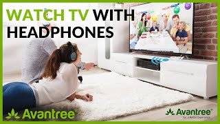 Best Buy Bluetooth Multi-Point Wireless Audio Transmitter for TV/PC/Headphone: Avantree Priva IIA