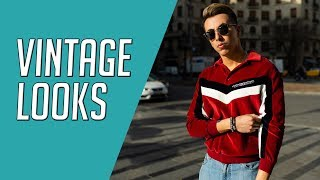 3 Vintage Inspired Looks 50s 60s 70s Mens Style    Gents Lounge Lookbook 2019