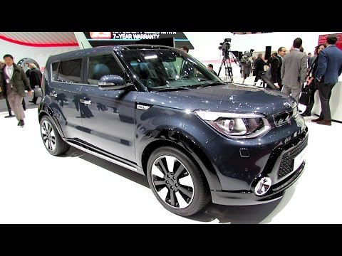 2014 KIA Soul - Exterior and Interior Walkaround - 2014 Geneva Motor Show