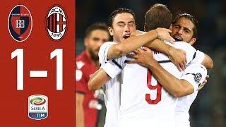Highlights Cagliari1-1 AC Milan  Matchday 4 Serie A 2018/2019