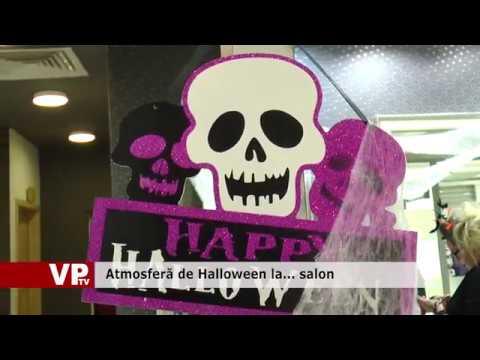 Atmosferă de Halloween la… salon