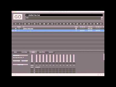 Video Tutorial: Panning an Audio Cue in QLab 3 | entertainment