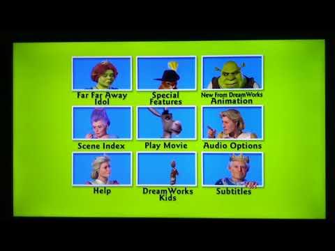 Shrek 2 Dvd Menu With Donkey Arcrainbow Video Musicpleer