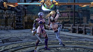 Soulcalibur 6 - Ivy vs Sophitia Gameplay & Special Moves (PS4 Pro)
