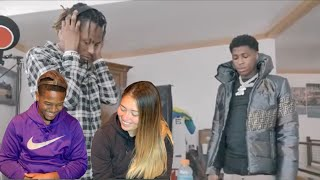 NBA YoungBoy ft Rich the Kid Studio Session (vlog) REACTION!