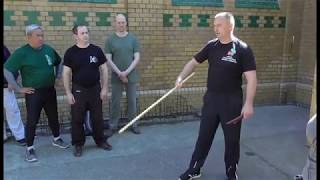 Systema Russian Martial Art - Style Solovyev  From fencing to fighting punches and kicks