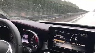 C45 AMG | Deutsche Autobahn | 180 Km/h & extremer Regen #2
