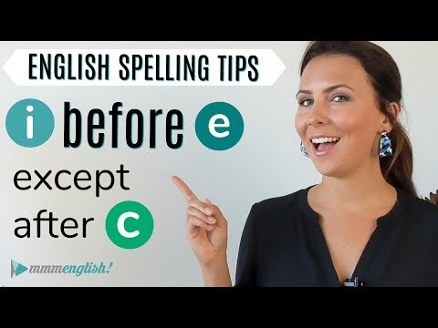 1 Simple Spelling Tip   Improve Your English Writing Skills - YouTube