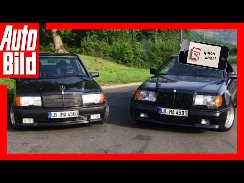 Quickshot: Mercedes 300 CE 6.0 & 190 E 3.2 AMG - Die AMG-Legenden