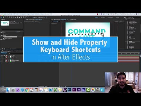 After Effects Keyboard Shortcuts Show and Hide Properties \u2014 EVF