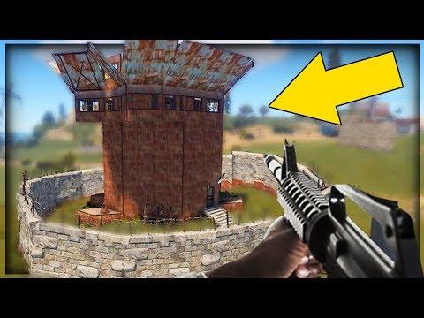 【DE JuN】RUST -  剿了一棟戰隊炮樓!高富蟀橫死街頭!