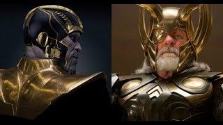 Thanos vs Odin - Titan vs All-Father