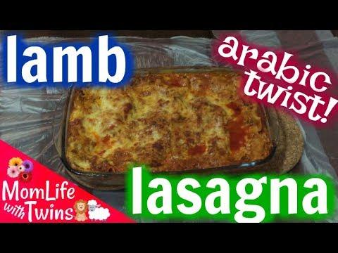 EASY LAMB LASAGNA RECIPE | ARABIC TWIST