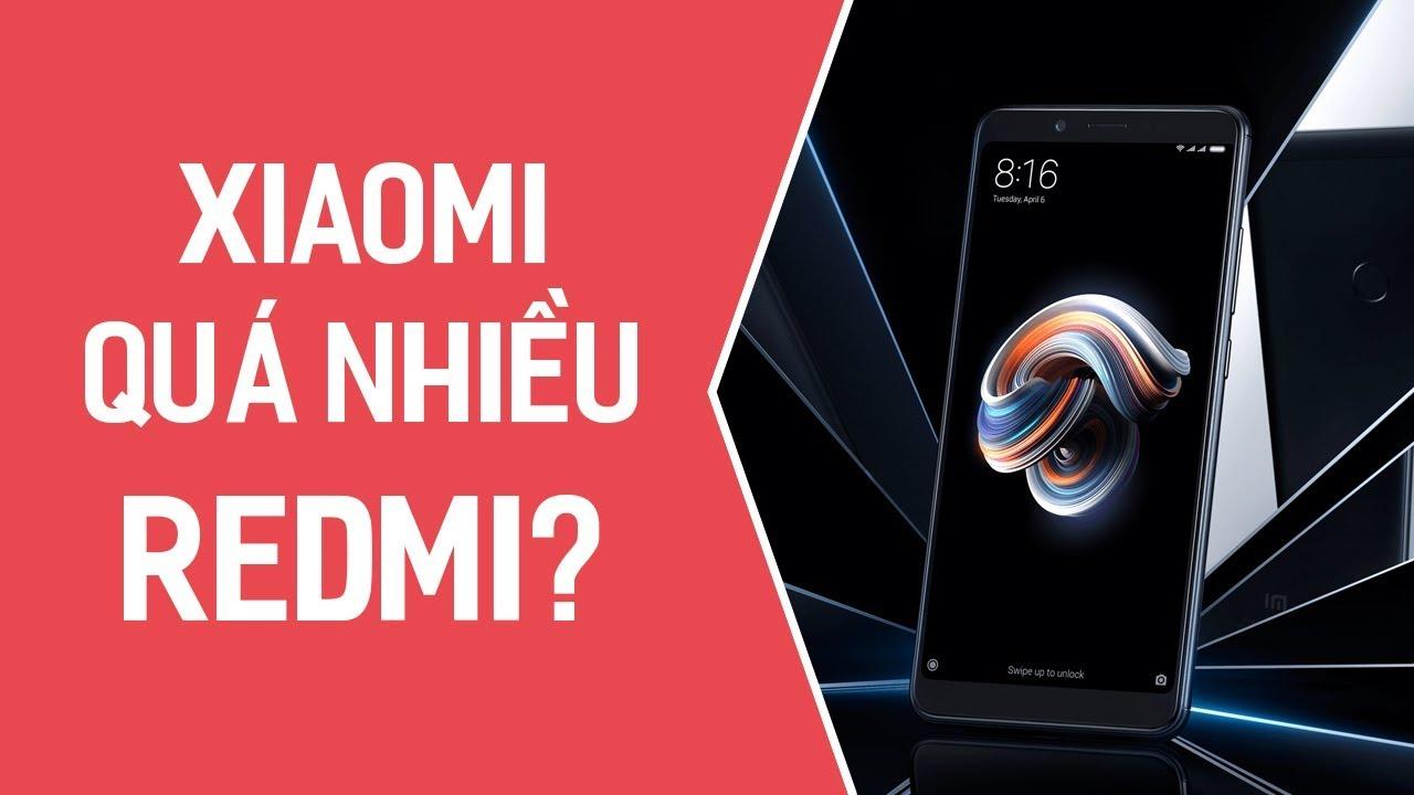 Quá nhiều Redmi, fan bị loạn? Xiaomi không nghĩ vậy!