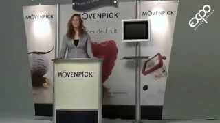 Exhibition Display Stand Using Highline™ Portable Display From Insta Exhibitions
