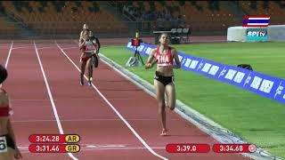 ไฮไลท์  วิ่ง 4x400 ม. หญิง ซีเกมส์  (ชิงเหรียญทอง) - 10 ธ.ค. 2019