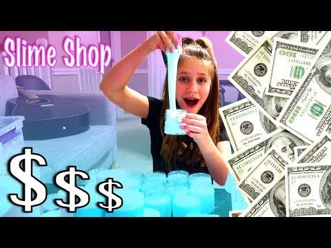 Hope Marie's Slime Shop (How To Make Money As A Kid) Hope's Slime Shop Secrets Revealed