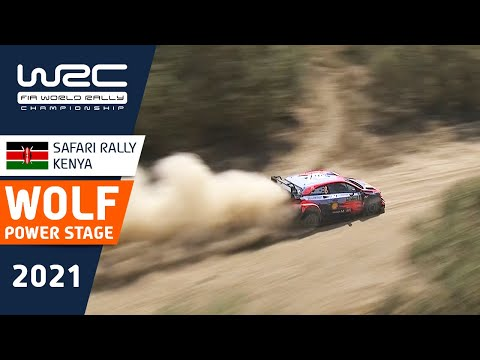 勝田貴元が2位表彰台!優勝はオジェ!WRC 2021 WRC第6戦ラリー・ケニア パワーステージのハイライト動画