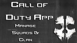 Create & Join Clans with Call of Duty App iOS, Android, Windows Mobile | Call of Duty: Ghosts