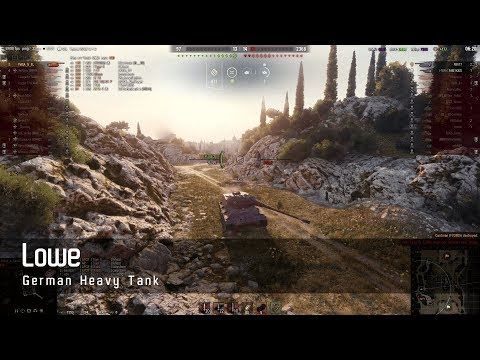 World of Tanks – German Tech Tree - Heavy tank – Lowe – Abbey