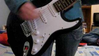 too fast for love - the donnas (guitar cover)