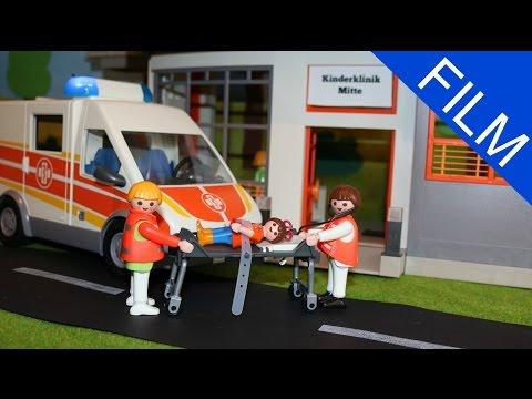 Playmobil Film deutsch DER KRANKENWAGEN KOMMT