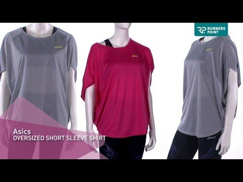 Asics OVERSIZED Short Sleeve Damen Laufshirt