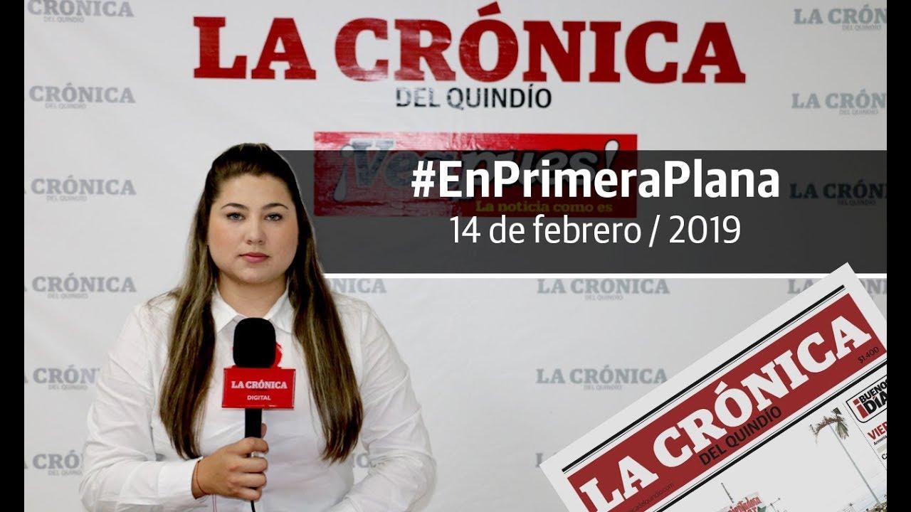 En Primera Plana: lo que será noticia este viernes 15 de febrero