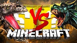 Minecraft: DRAGON LUCKY BLOCK CHALLENGE | AIR GUN WARS!!