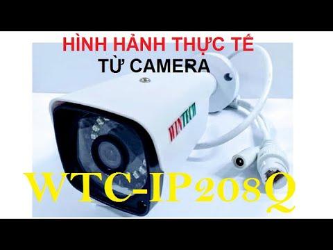 Demo Camera WTC-IP208Q độ phân giải 3.0MP WinTech