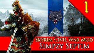 NEW SKYRIM MOD! Mount & Blade Warband: Skyrim Civil War Mod: Simpzy Septim #1