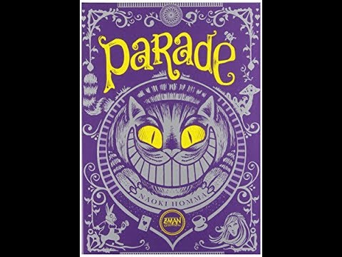 The Purge: # 1383 Parade: A Wacky follow the Leader Parade set in the Alice in Wonderland IP...whew! Just what I was looking for!