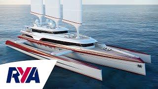Super Trimaran with Virtually Zero Carbon emissions -  Pi Super Yachts