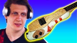 Bowling Pin Guitar