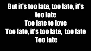 Too Late For Love Def Leppard Lyric Video YT