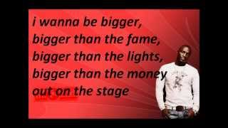 STEVEN COOPER FT. AKON BIGGER LYRICS