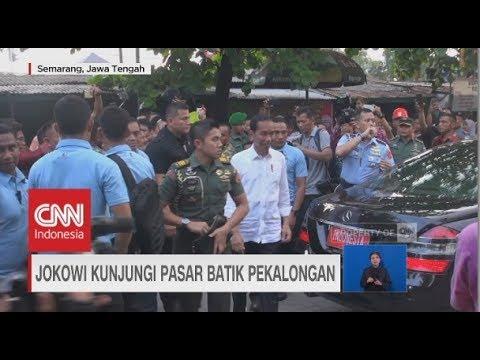 Jokowi Bersafari ke Semarang, Pekalongan & Lampung